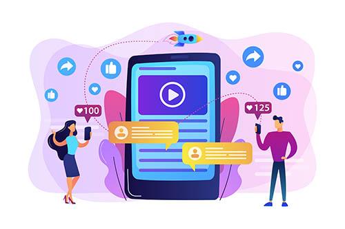 Digital marketing, online advertising